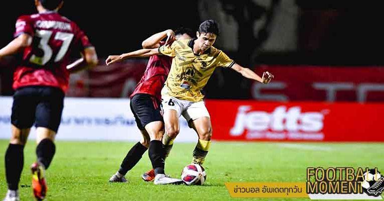 เทโร ได้จุดโทษเจ๊า ราชบุรี ท้ายเกม 2-2